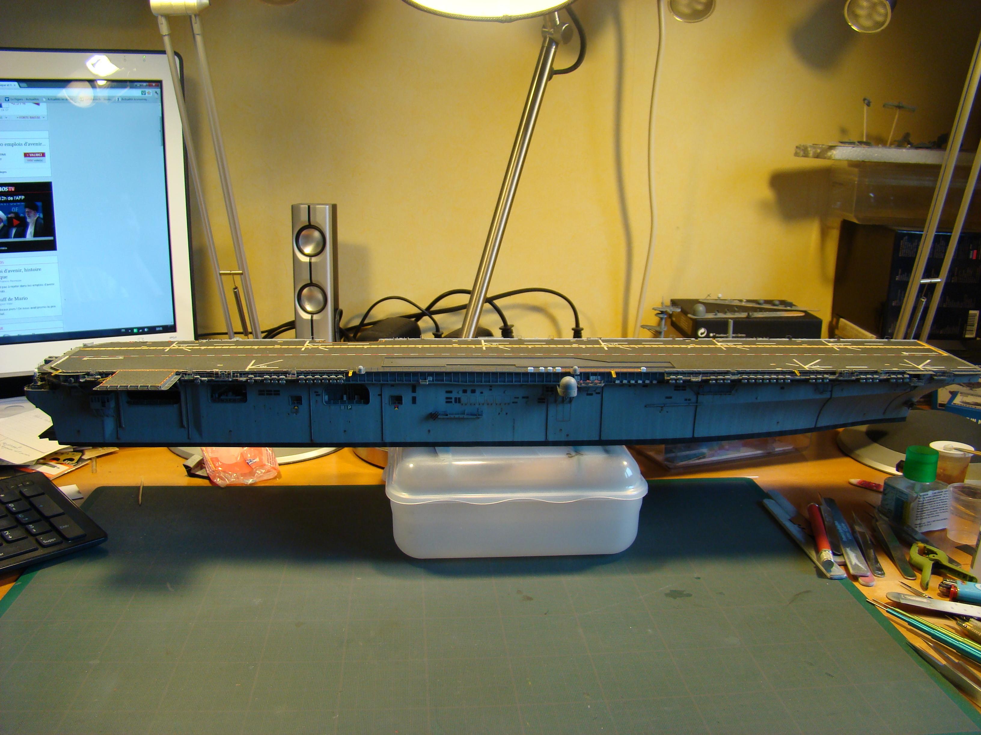 USS WASP LHD-1 au 1/350ème par nova73 - Page 7 Dsc09100b