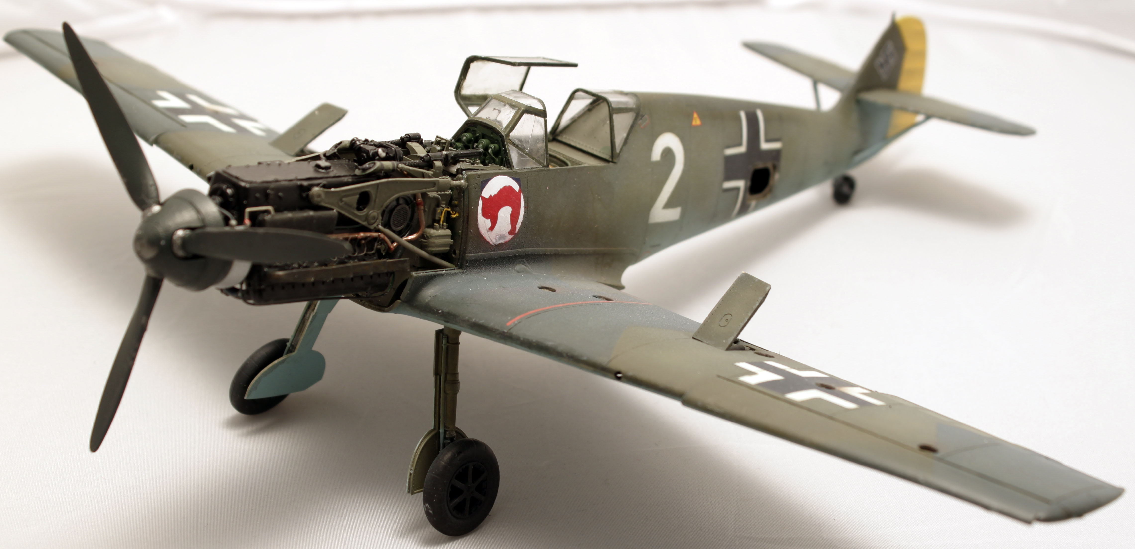 Me Bf 109 E1  [ Eduard 1/32 ] - Page 5 Dqnpw9
