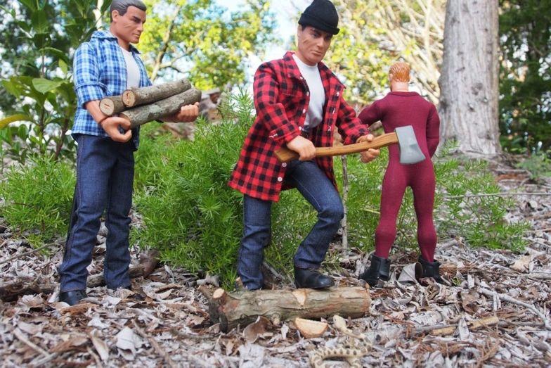 My Lumberjacks at Work! OEPoqV