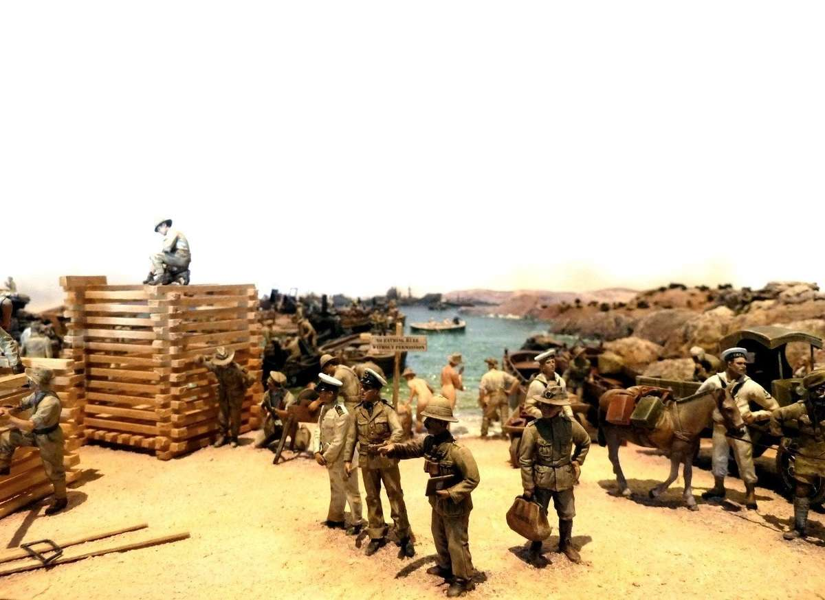 Gallipoli Diorama. HoS27o