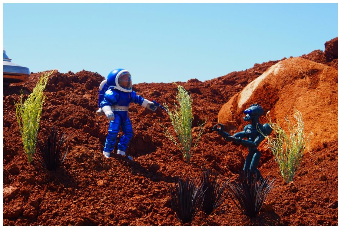 Random Pictures from the RED PLANET J2lS5e