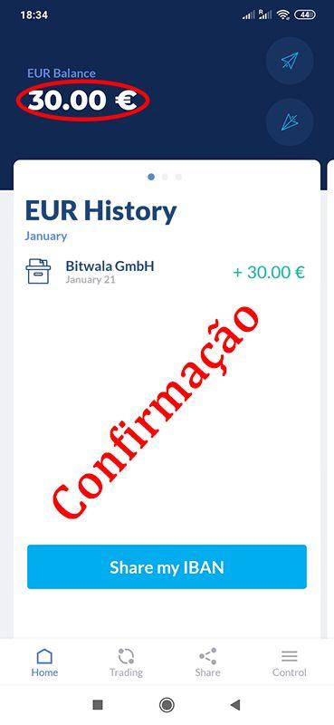 Bitwala - 30€ bonus MU4mIl