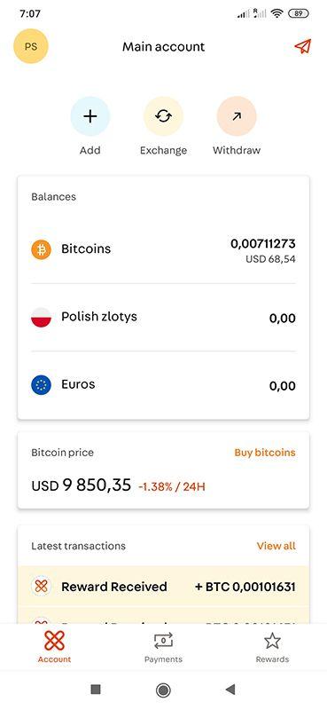 Xapo App - 10$ za darmo (natychmiastowa wypłata) VdKYLm