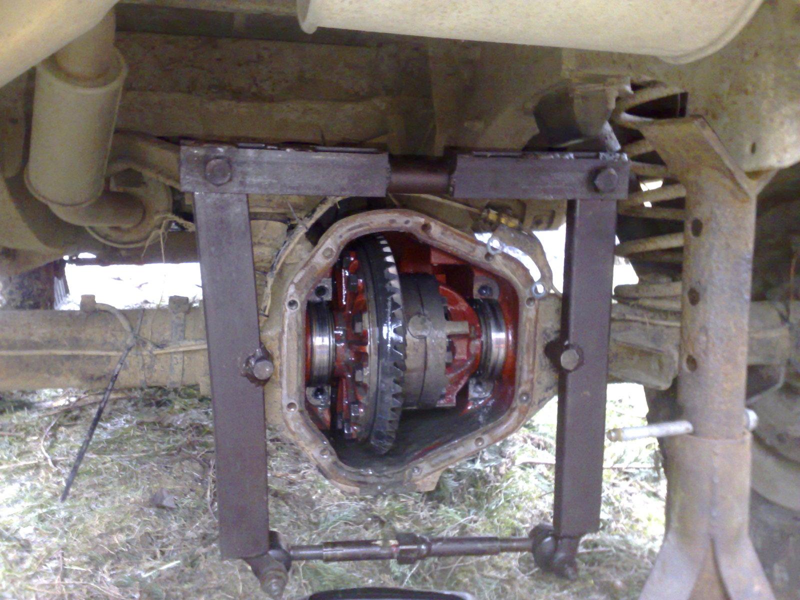 Salisbury axle - Bush mechanics 10012009402qp2