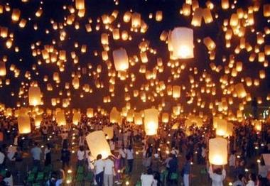 Lanterne céleste ou lanterne Thaïlandaise Lanternesthai11268030c4