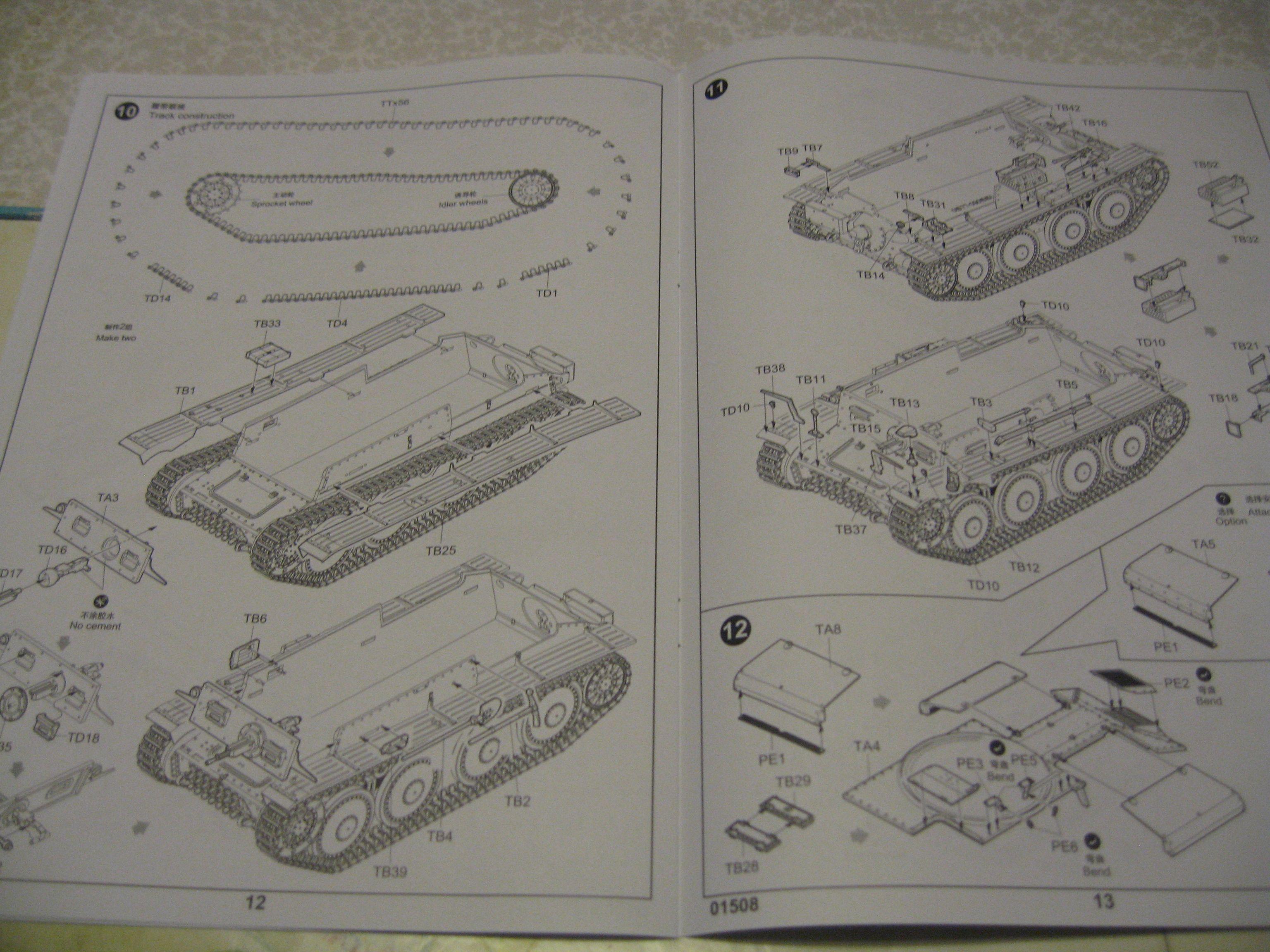 Review kit German Panzertragerwagen . 1/35 Trumpeter Img3693th