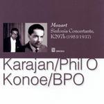 2 versions de la Symphonie concertante de Mozart... Karajankonoecd