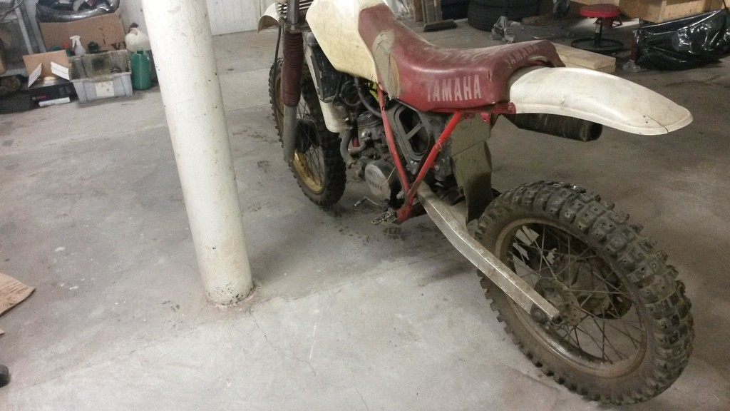 1984 Yamaha YZ125 PM7LgT