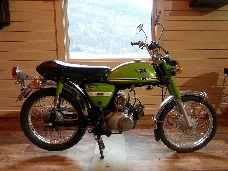 1974 Suzuki AC50 50RDtD