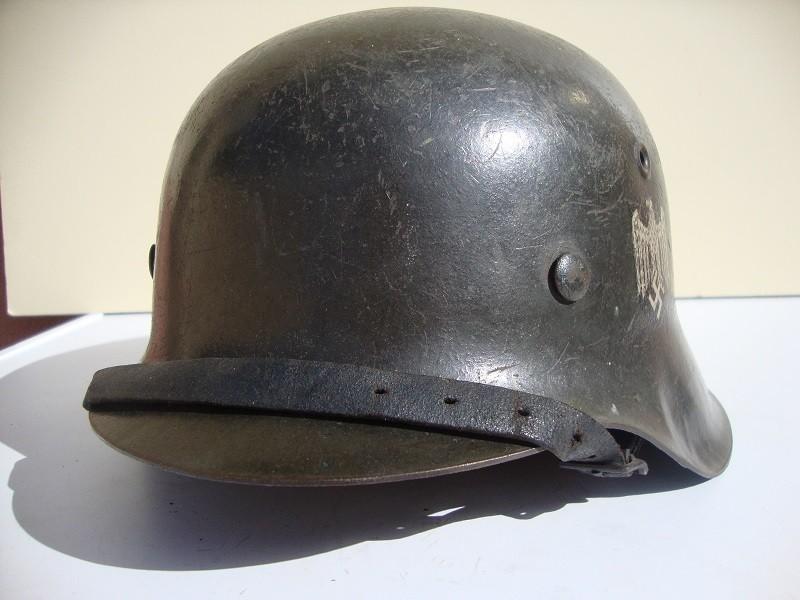 Casque allemand modèle 42 avec insigne Qt9iHS