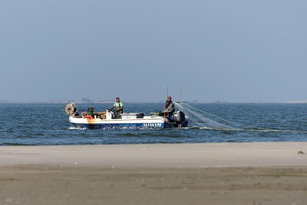 Warning filet de pêche à port Camargue KaVZrT