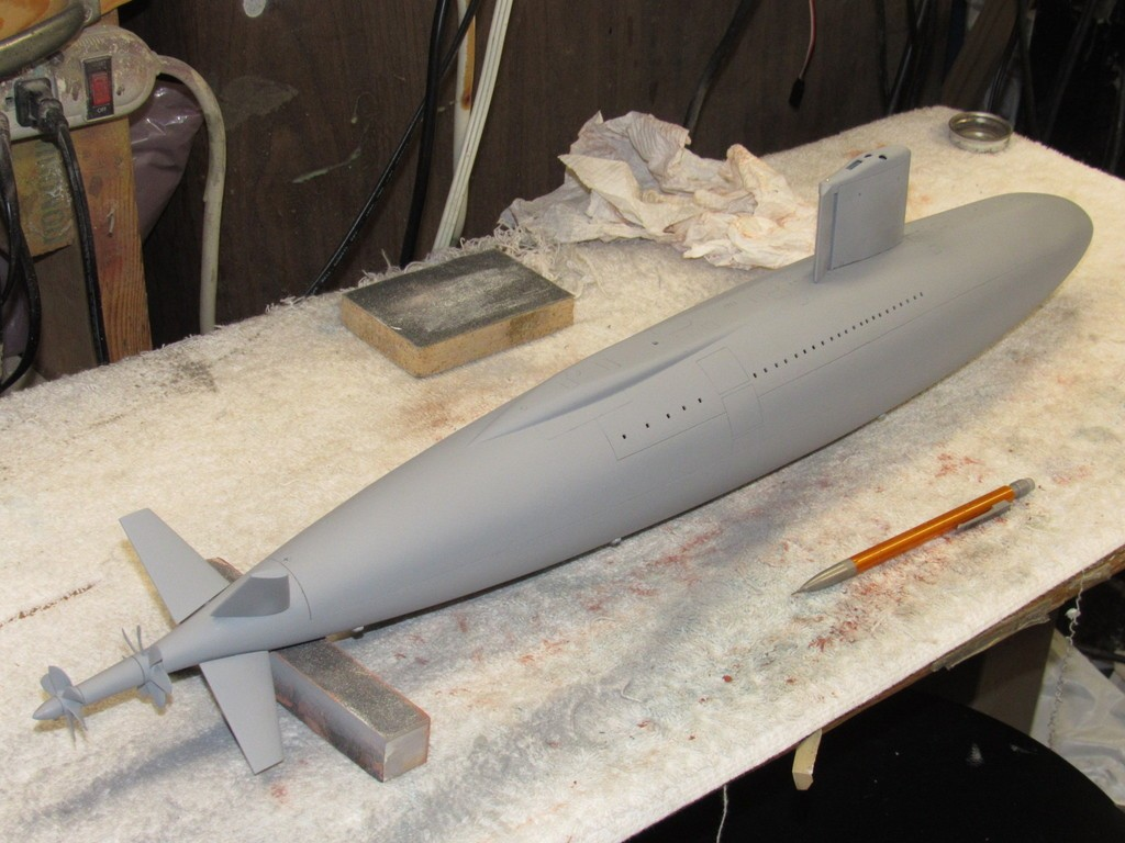 Assembling the excellent Scale Shipyards 1/96 SSBN, USS Daniel Webster F0Cdv7