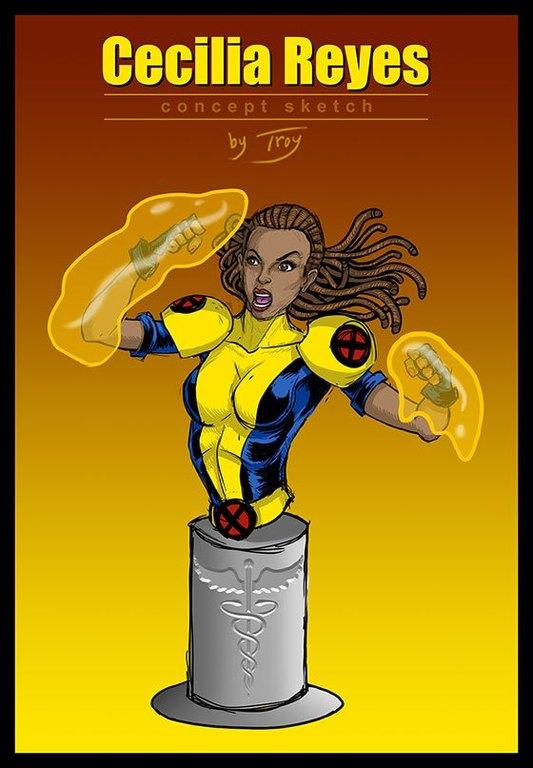 Dr. Cecilia Reyes of the X-Men ZWKRQU