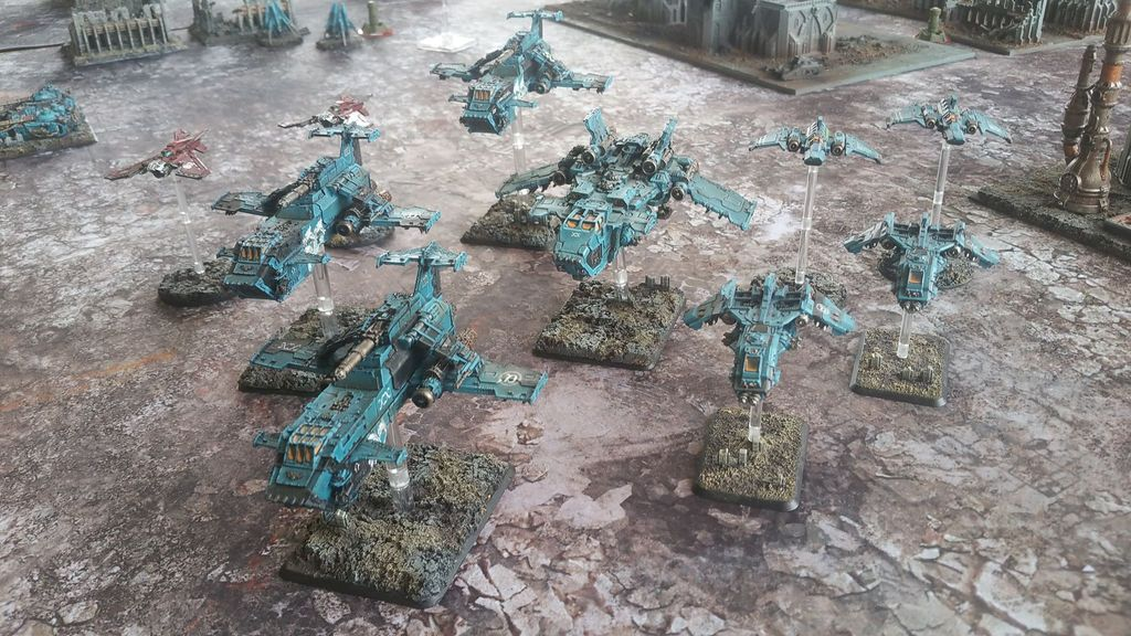 La Bataille de Tallarn Phase I: IF vs AL (x2) et IF vs IW PLQLHy