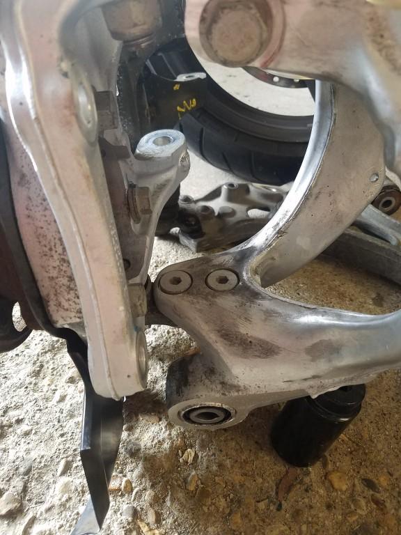 HiPer strut (GNB suspension code) & coil-over conversion RAxY39