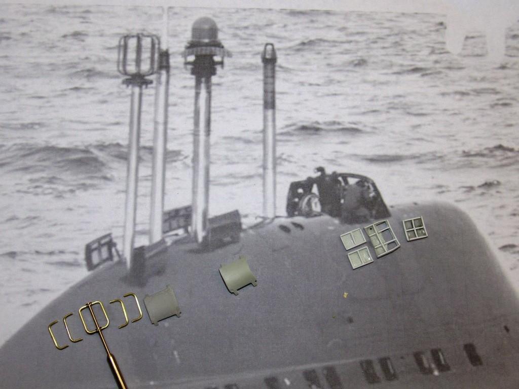 upgrading the SSY 1/96 ALFA kit A2PCbl