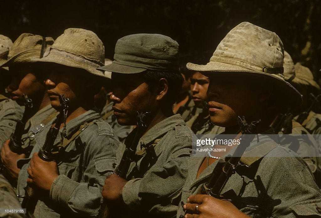 Sandinista uniforms OPj42H
