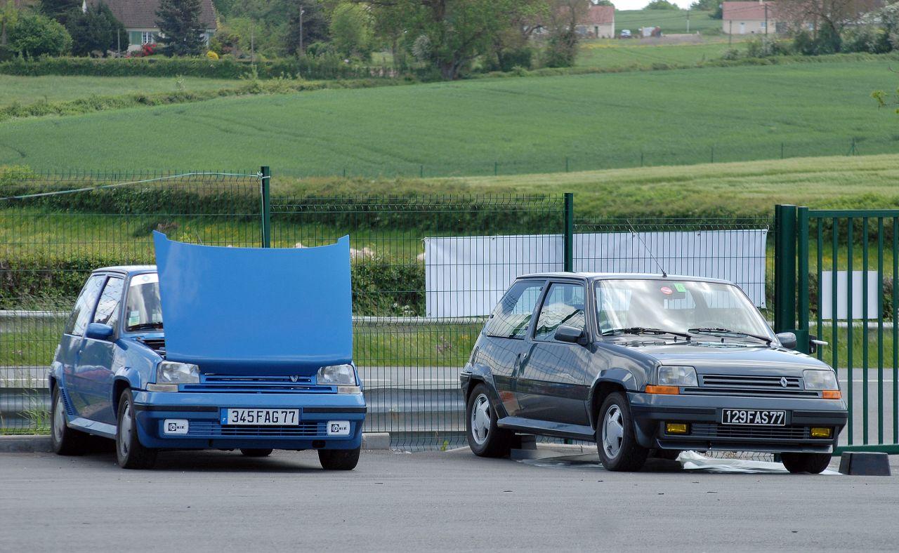 Les 30 ans de la Super 5 GT Turbo à La Châtre SLJdmh