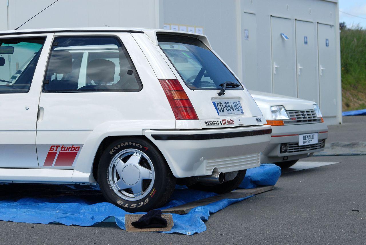 Les 30 ans de la Super 5 GT Turbo à La Châtre F3e2b8