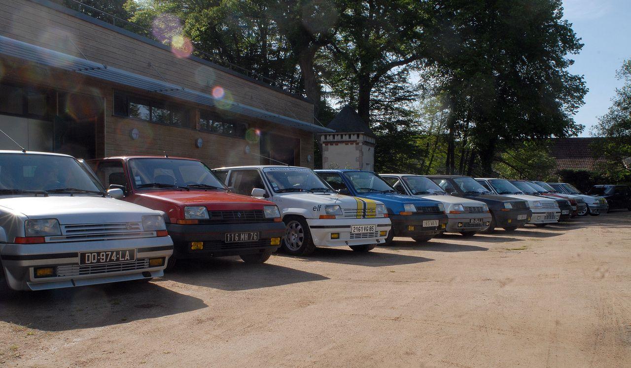 Les 30 ans de la Super 5 GT Turbo à La Châtre TwrBYR