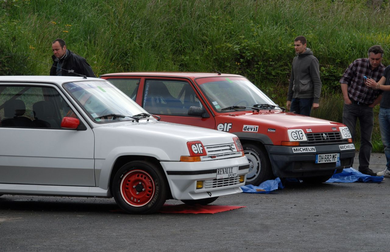 Les 30 ans de la Super 5 GT Turbo à La Châtre 9r9Hns