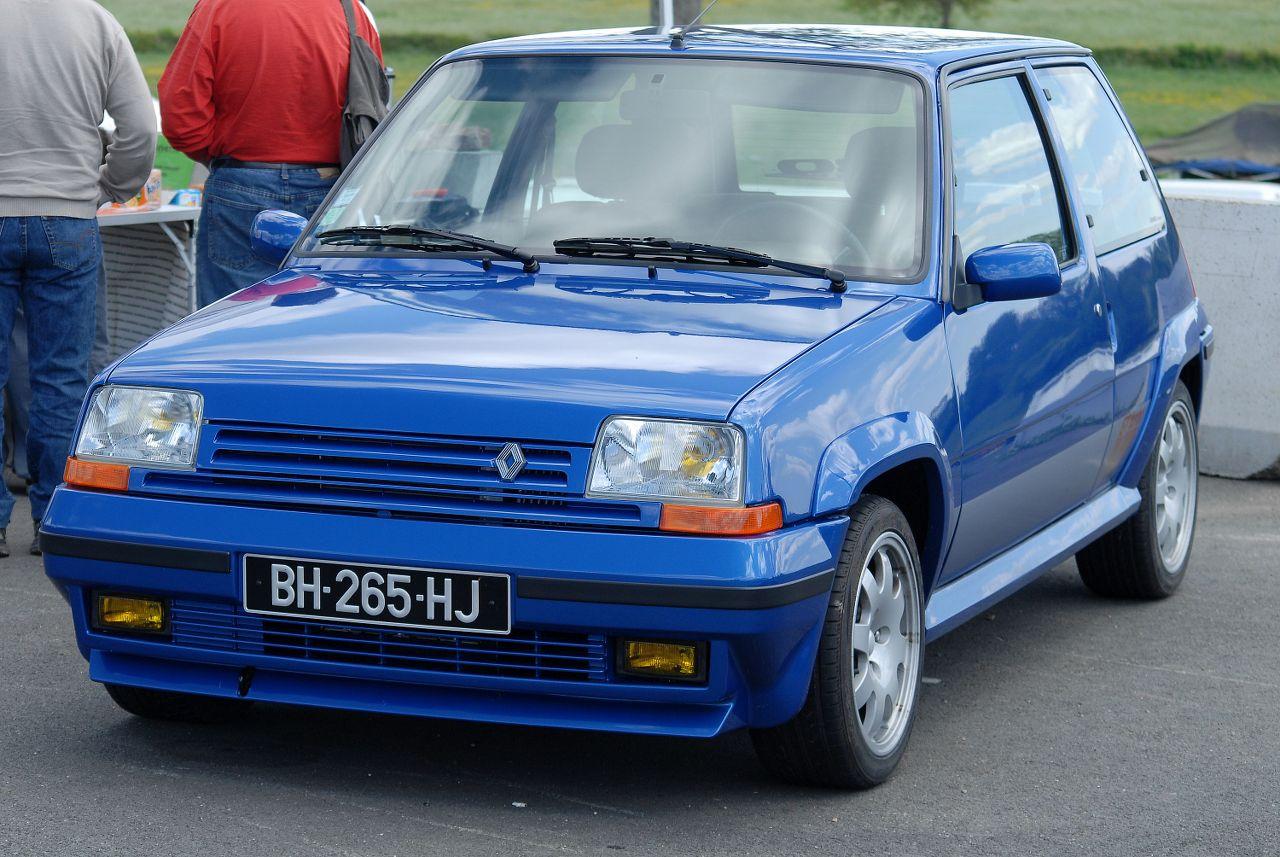Les 30 ans de la Super 5 GT Turbo à La Châtre R4JUbN