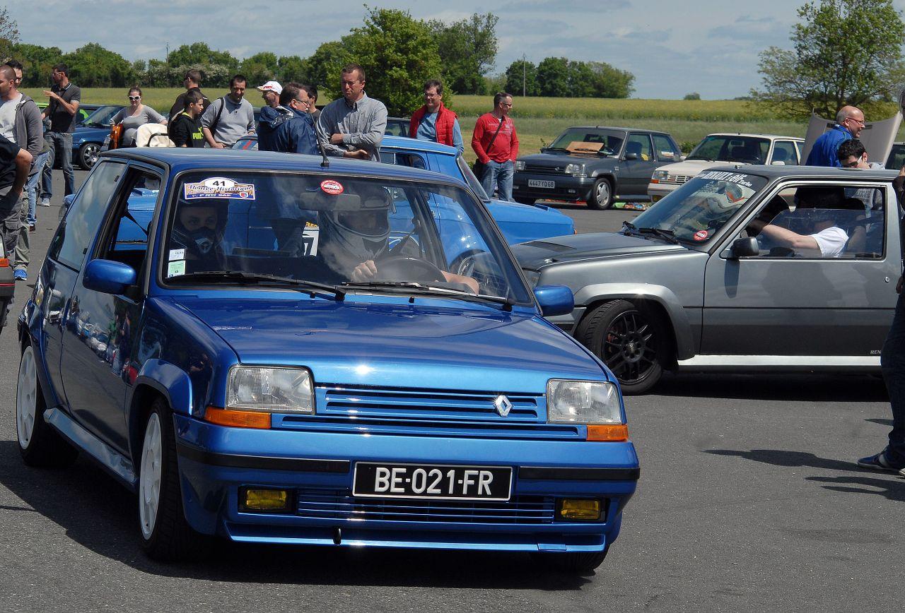 Les 30 ans de la Super 5 GT Turbo à La Châtre CR3vz3