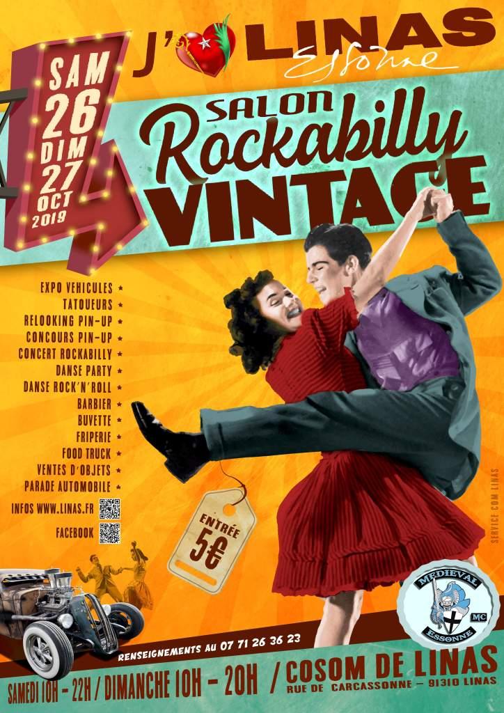 Linas rockabilly vintage 26 et 27 octobre Cosom Linas 91 DhBaUl