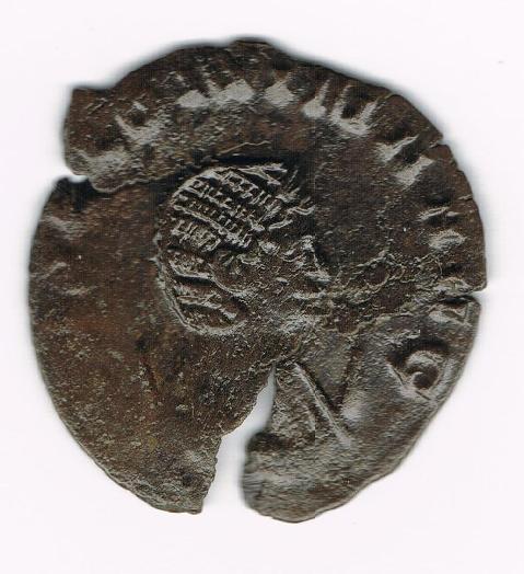 Antoniniano de Salonina. IVNONI CONS AVG. Ciervo o Antílope avanzando a izq. Ceca Roma. MVliNl