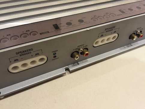 Soundstream EGA 5700 5 Channel Amplifier IUphPm