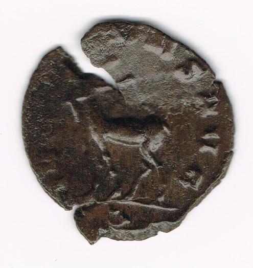 Antoniniano de Salonina. IVNONI CONS AVG. Ciervo o Antílope avanzando a izq. Ceca Roma. YGfDF0
