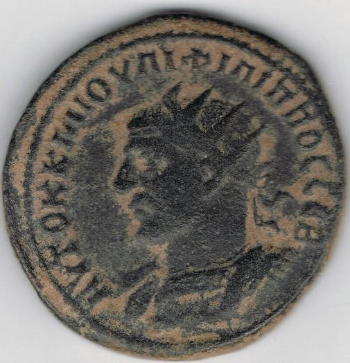 Tetradracma de Filipo I. Busto de Tyché a dcha. Ceca Antioquía (Siria). Uft8H9