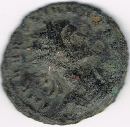 Antoniniano de Aureliano. ORIENS AVG. Sol estante entre dos cautivos. DhpJwg