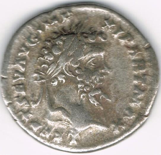 Denario de Septimio Severo. COS II P P. Victoria avanzando a izq. Ceca Roma?. PGPpyw
