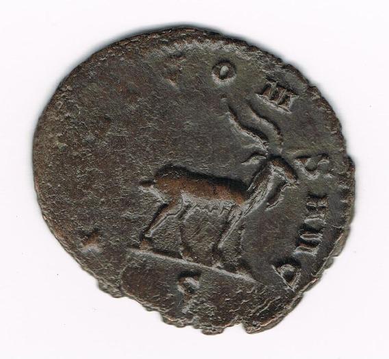 Antoniniano de Galieno. IOVI CONS AVG. Cabra andando a dcha. Ceca Roma. KWGwQO