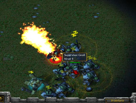 Empujon Flameante K4RUg2
