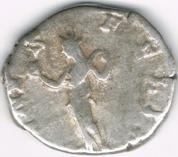 Denario de Julia Domna. VENVS FELIX. Venus estante a izq. Ceca Roma. C9Cg98