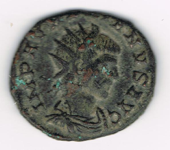 Antoniniano de Aureliano. MARTI PACIF. Marte avanzando a izq. Ceca Mediolanum. YLKhk3