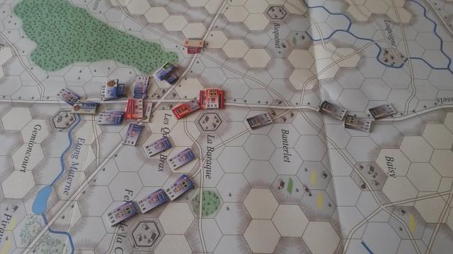 Le Retour de l'Empereur ! La Bataille des Quatre Bras J90b