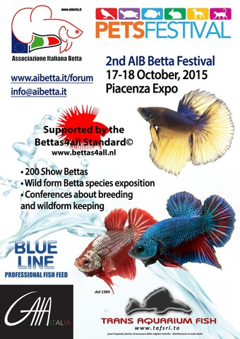 BettaFestival 2015 - 17/18 october Piacenza (Italy) PoUPaI