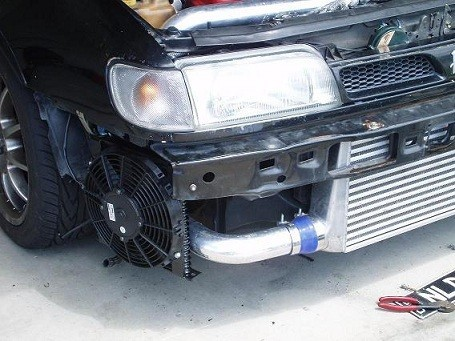 Oil cooler and location VF0CTC