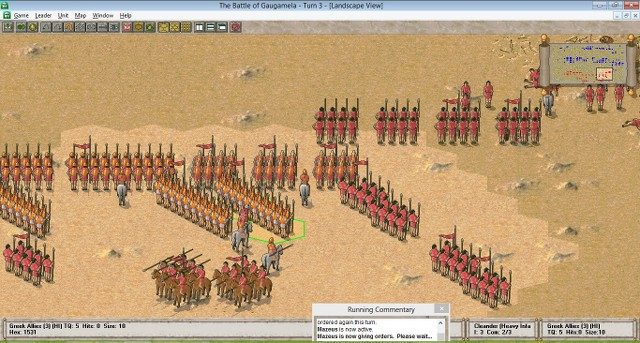 CR - Great Battles of Alexander : Gaugamèles WAdHUS