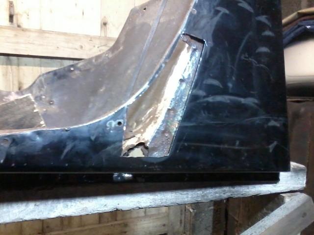 réparation ailes d'YJ 4.0L 4ap7