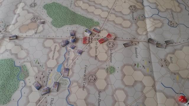 Le Retour de l'Empereur ! La Bataille des Quatre Bras Ya3n