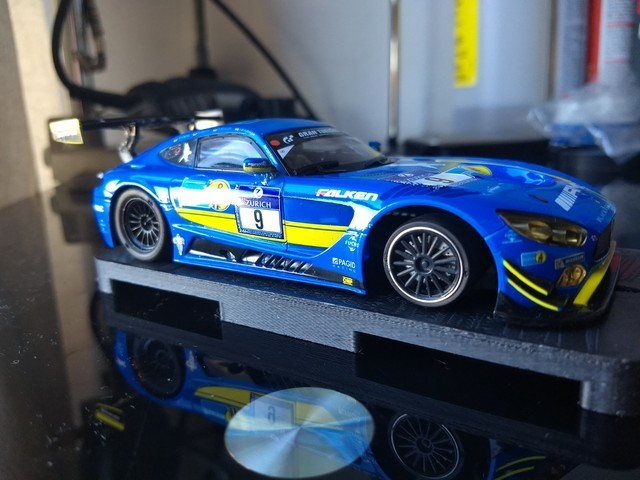 Mercedes Benz AMG GT3 Scalextric - Copa Scalextric con imán 2019 - Añe J0jgaY