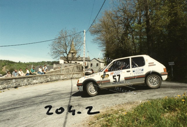 205 GTI 1.6 Gr. N et Gr. A / E.SENEGAS (1988 à 1991) 2ZWBgO