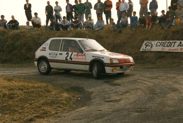 205 GTI 1.6 Gr. N et Gr. A / E.SENEGAS (1988 à 1991) MBpSti