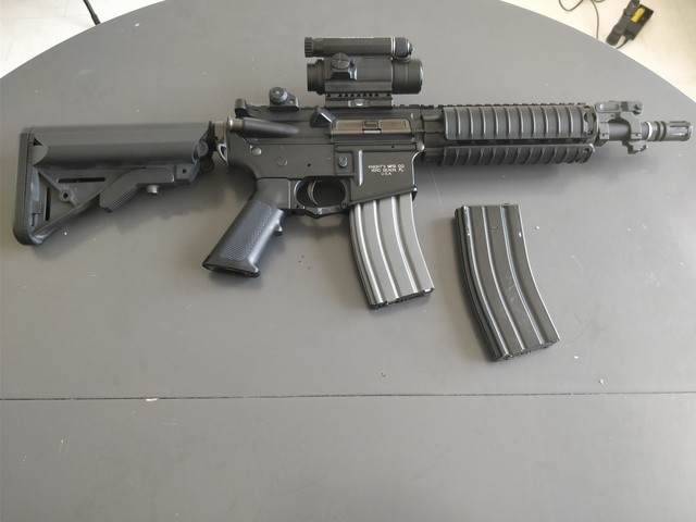 M4 Cqb Vfc, Steyr Aug Kit M82, Glock 19 Gbb, Beretta Gbb, Et Matos Divers, vente suite arrêt N9mtL0
