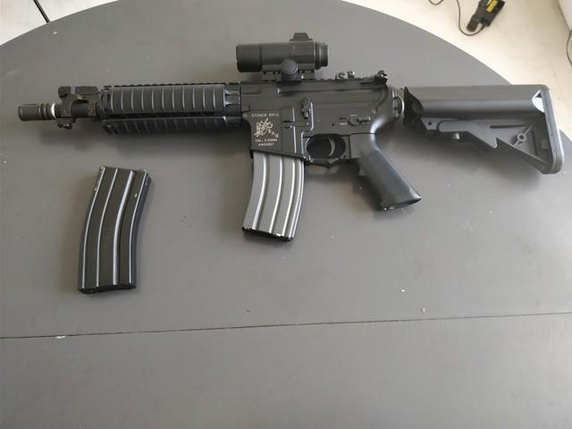 M4 Cqb Vfc, Steyr Aug Kit M82, Glock 19 Gbb, Beretta Gbb, Et Matos Divers, vente suite arrêt JVzYWc