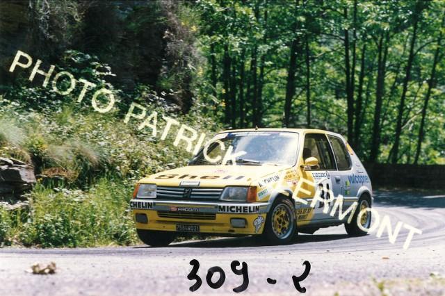 205 GTI 1.6 Gr. N et Gr. A / E.SENEGAS (1988 à 1991) OvBiHH